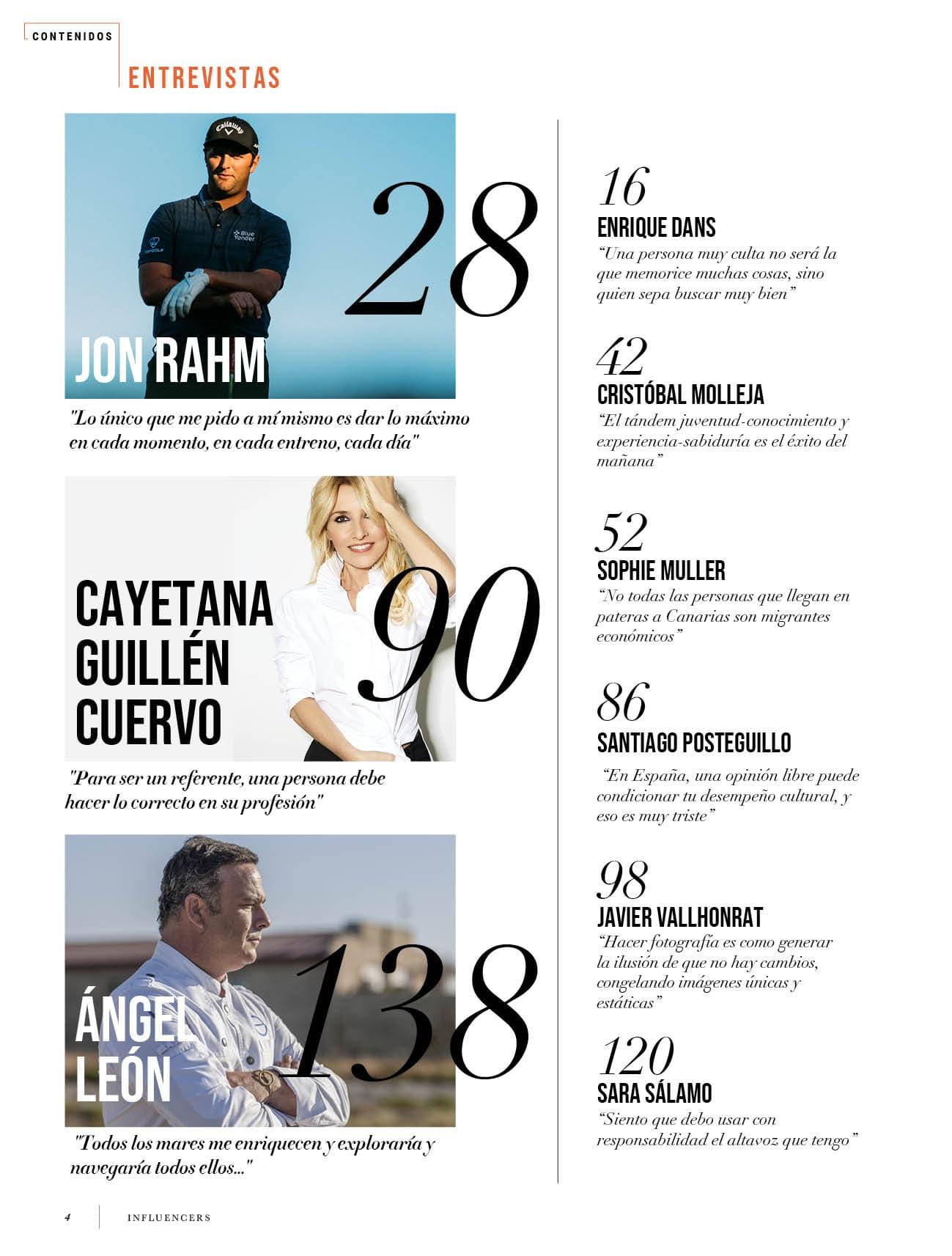 Nuevo número | Revista influencers