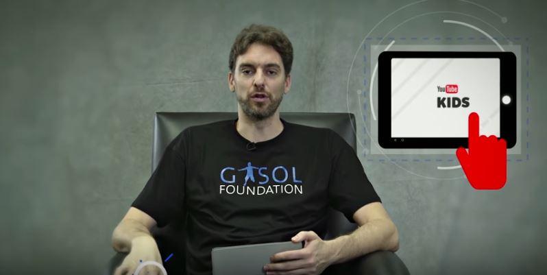 Los hermanos Gasol y YouTube Kids, contra la obesidad infantil