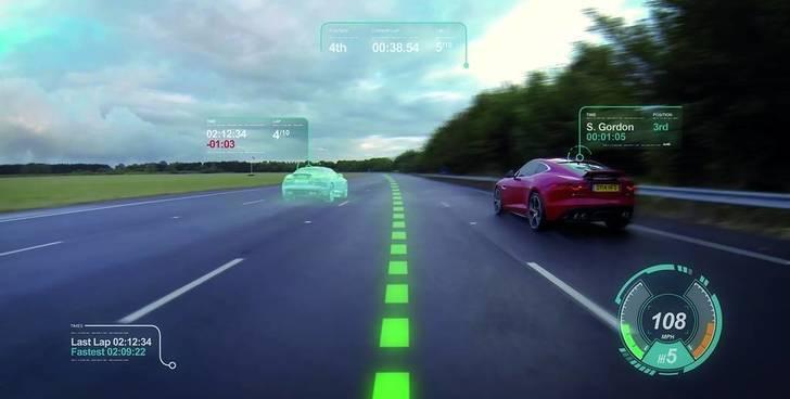 El nuevo parabrisas con pantalla de realidad aumentada