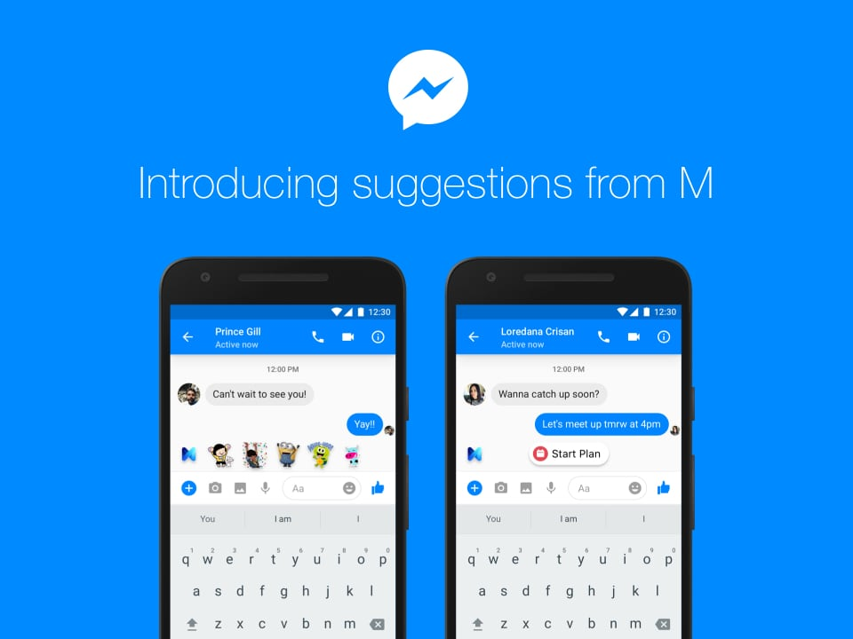Así funciona 'M', el asistente virtual de Facebook Messenger