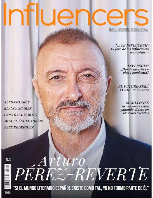 Revista Influencers | Nov - Dic 2020 | Arturo Pérez Reverte