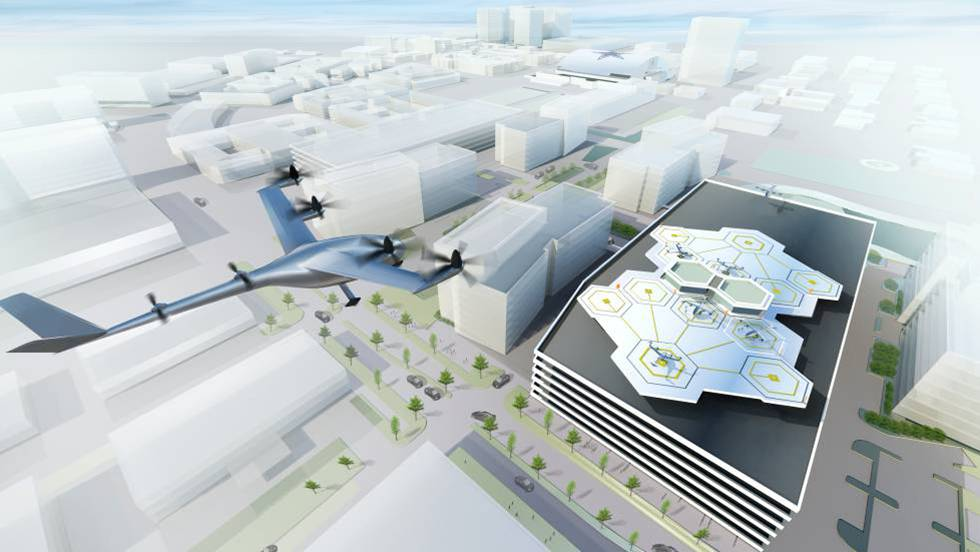 Uber tendrá coches voladores en Dubái
