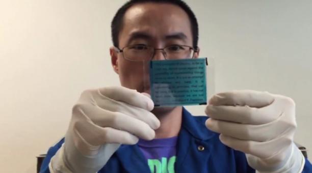 Llega el papel reutilizable (gracias a la ciencia)