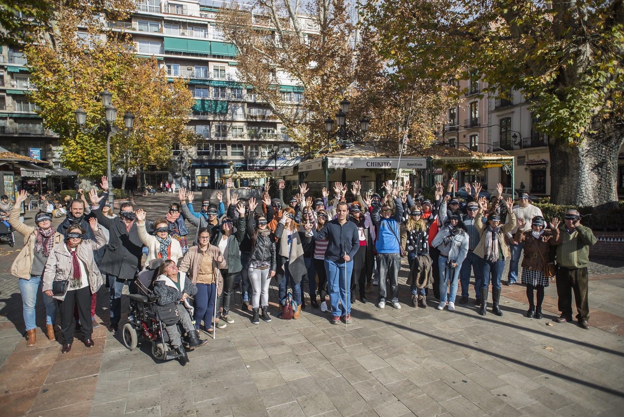 Comercios 'visibles' para personas ciegas