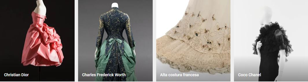 La historia de la moda contada por Google Arts & Culture