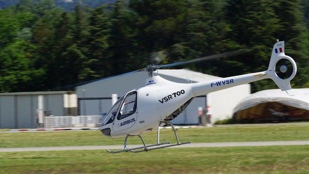 El helicóptero sin piloto de Airbus realiza su primer vuelo