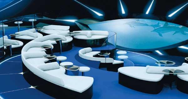 Primer crucero con salón multisensorial submarino