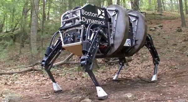 El gigante japonés SoftBank adquiere los imponentes robots de Google