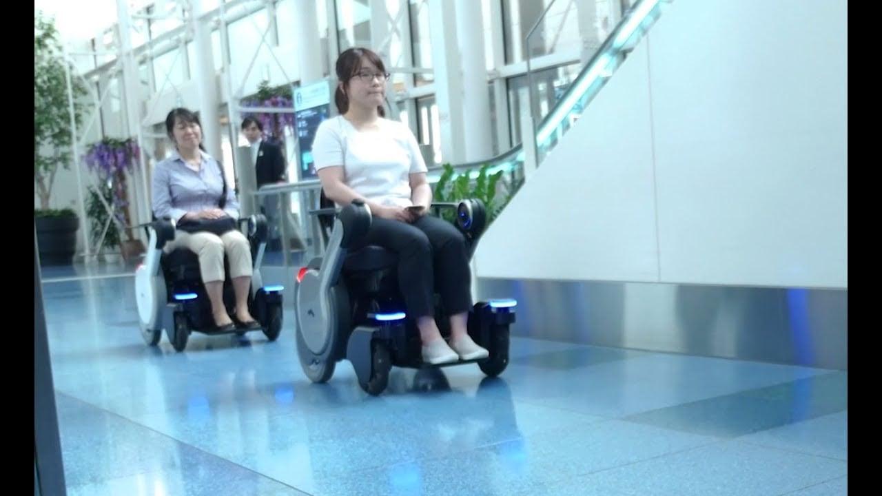 Sillas de ruedas inteligentes para aeropuertos