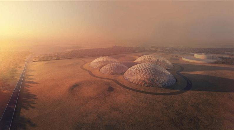 Los Emiratos Árabes Unidos planean construir un modelo de un posible asentamiento en Marte.