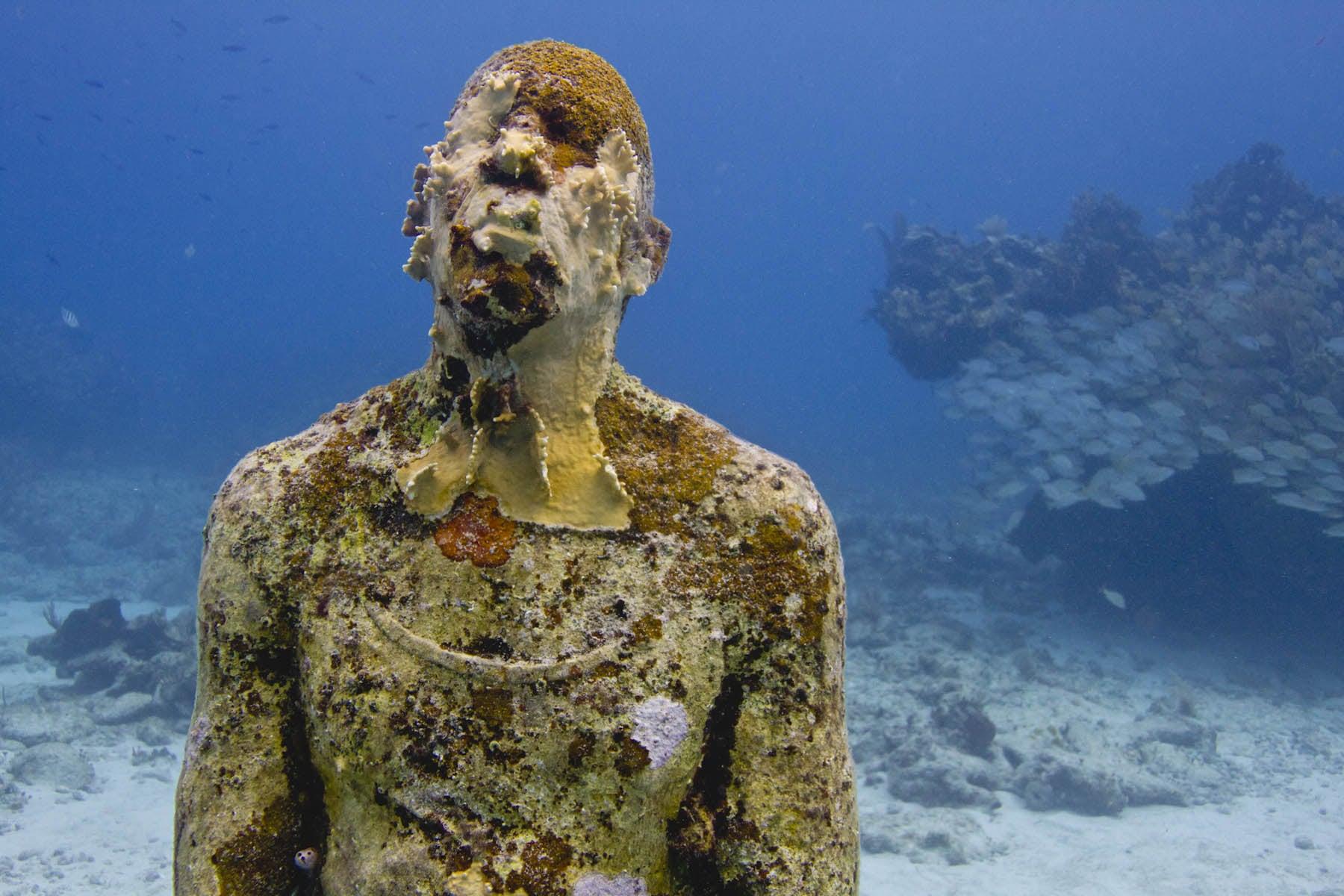 Museos de arte bajo el mar