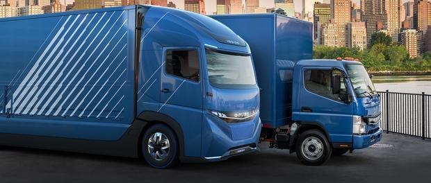 Daimler Trucks presenta una familia de camiones eléctricos.