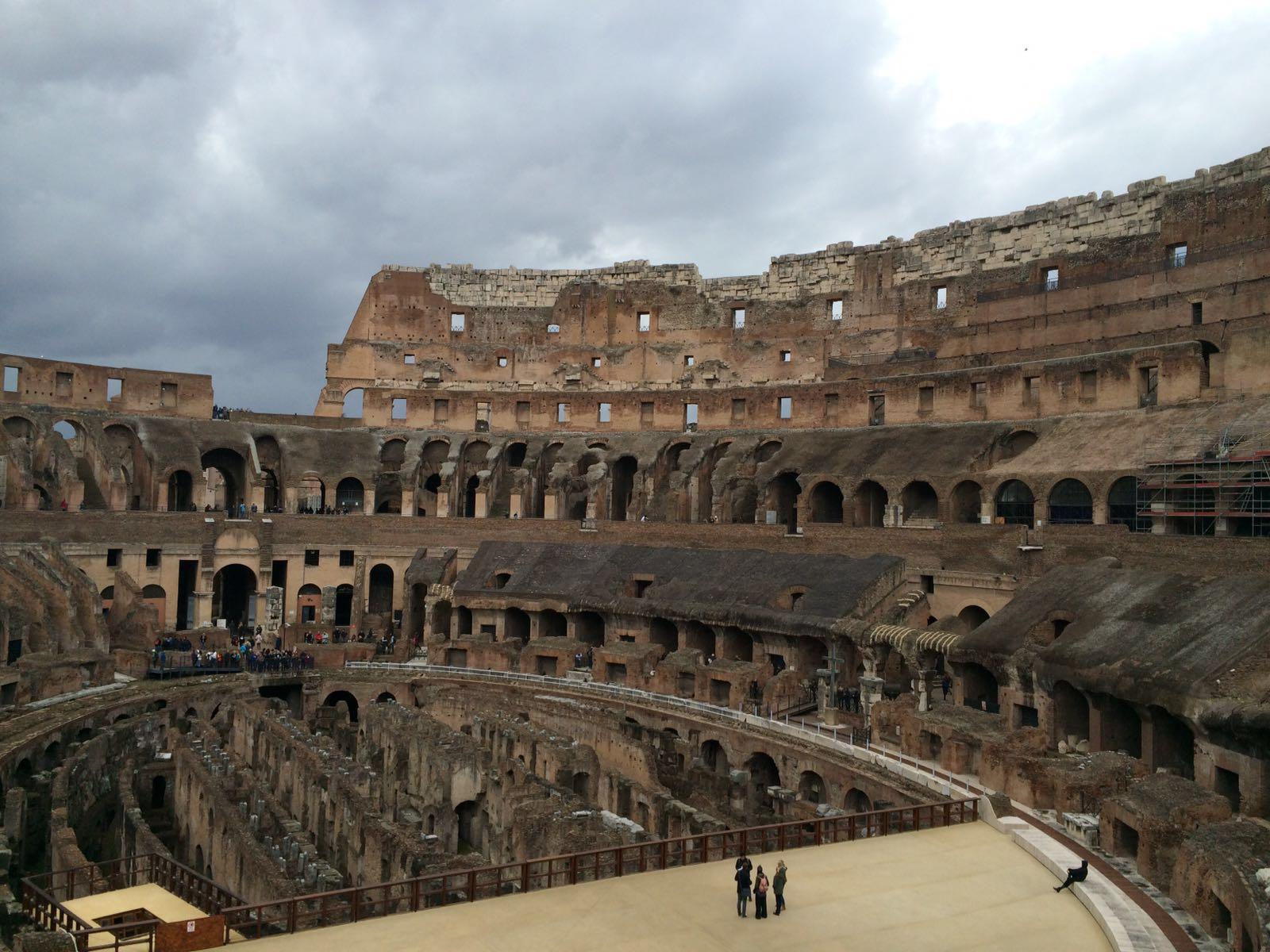 El Coliseo romano lucirá como hace 2.000 años