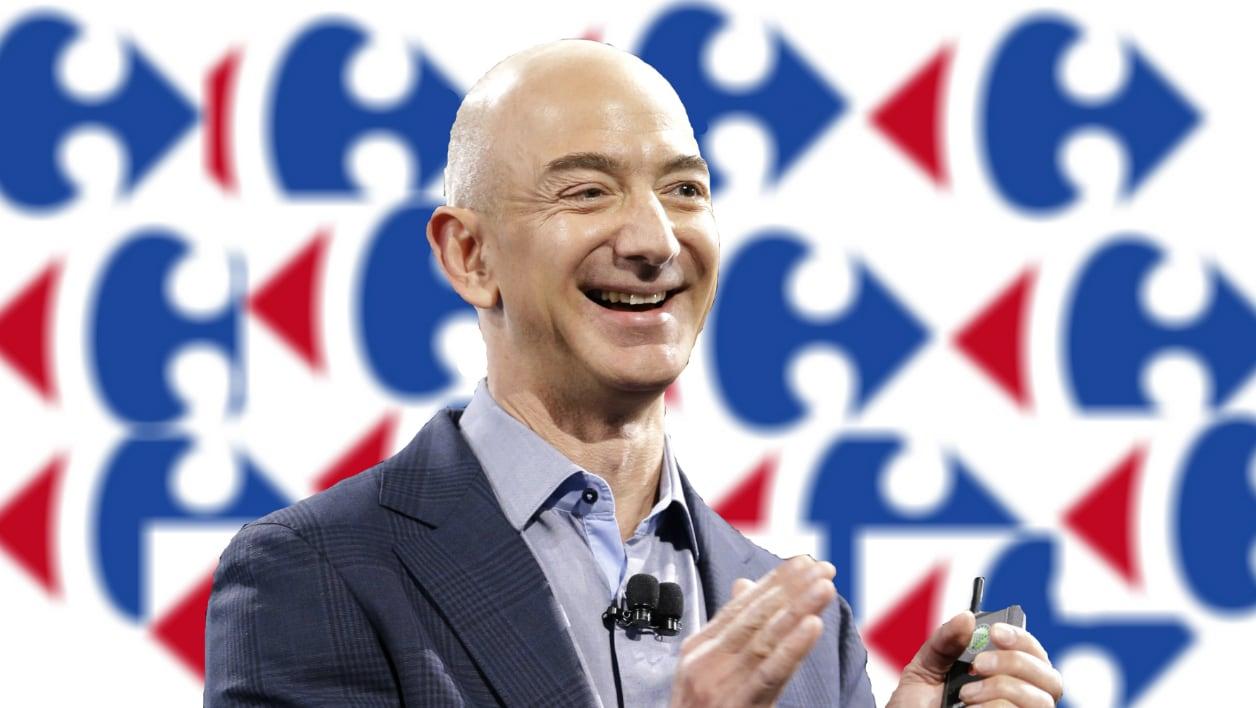 ¿Amazon quiere comprar Carrefour?