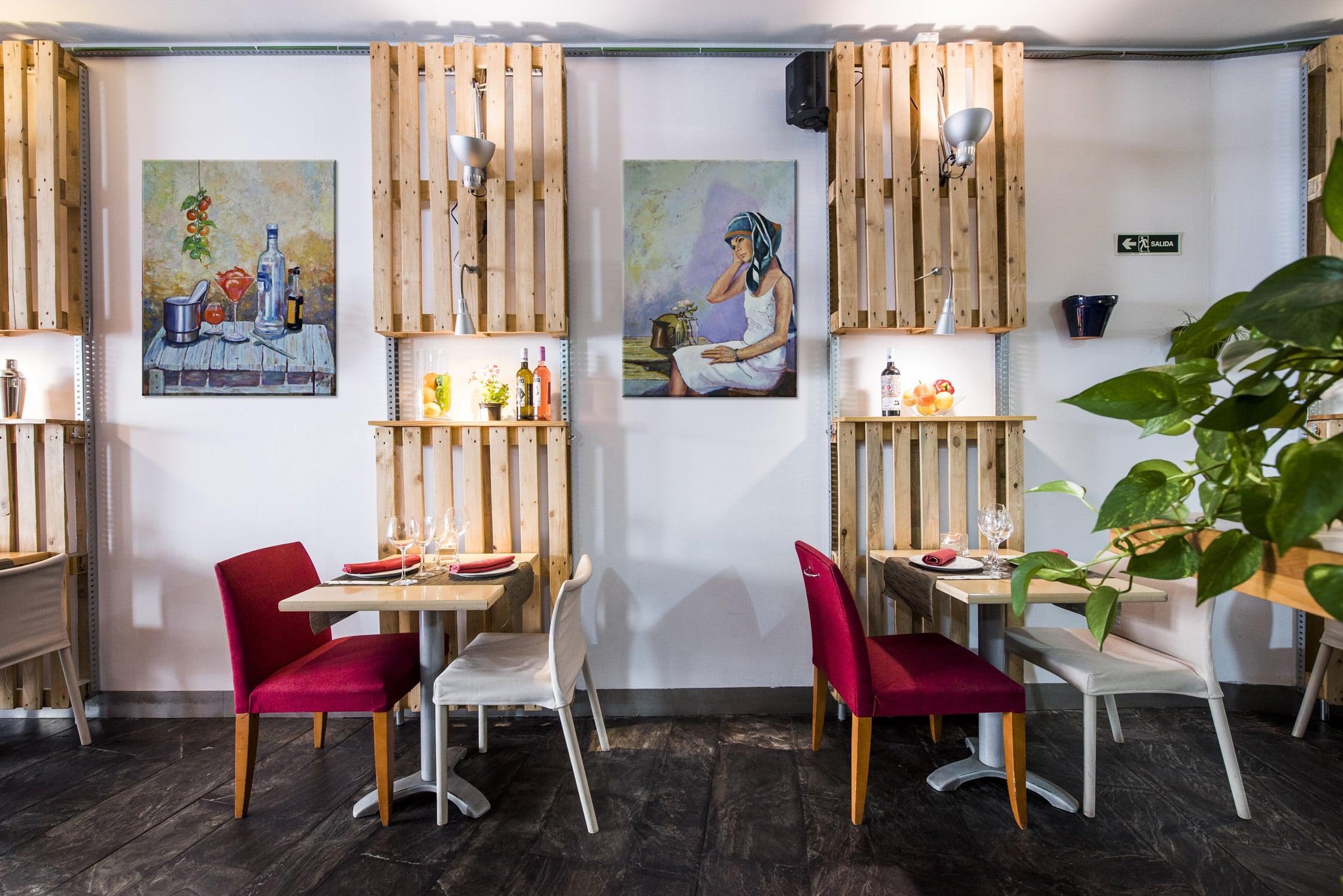 Arte y gastronomía creativa en Oceanika