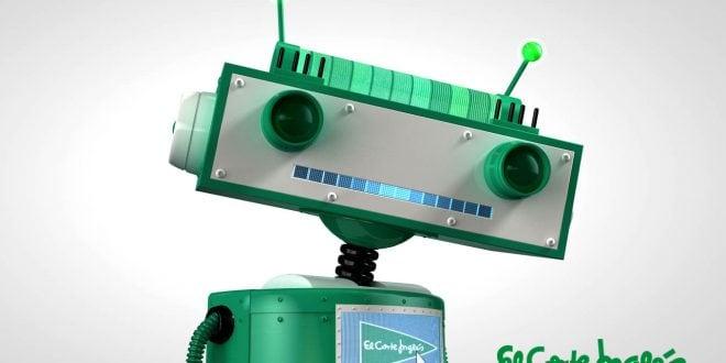 El robot de El corte Inglés