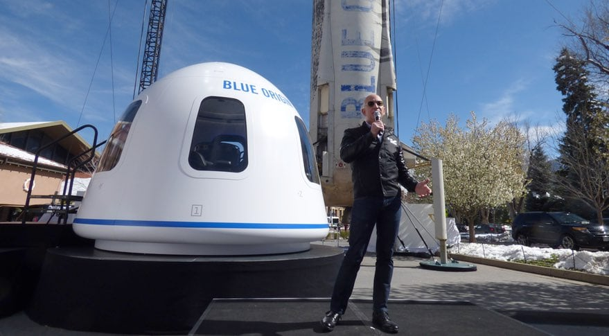 Turismo espacial con Blue Origin