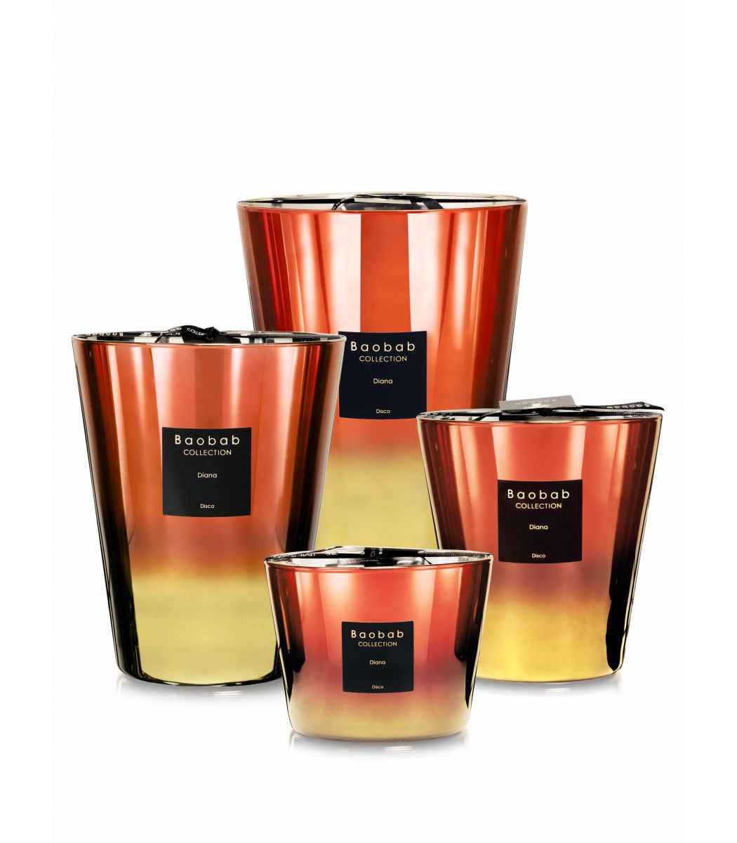 Baobab Collection lanza su edición limitada de velas 'Disco'