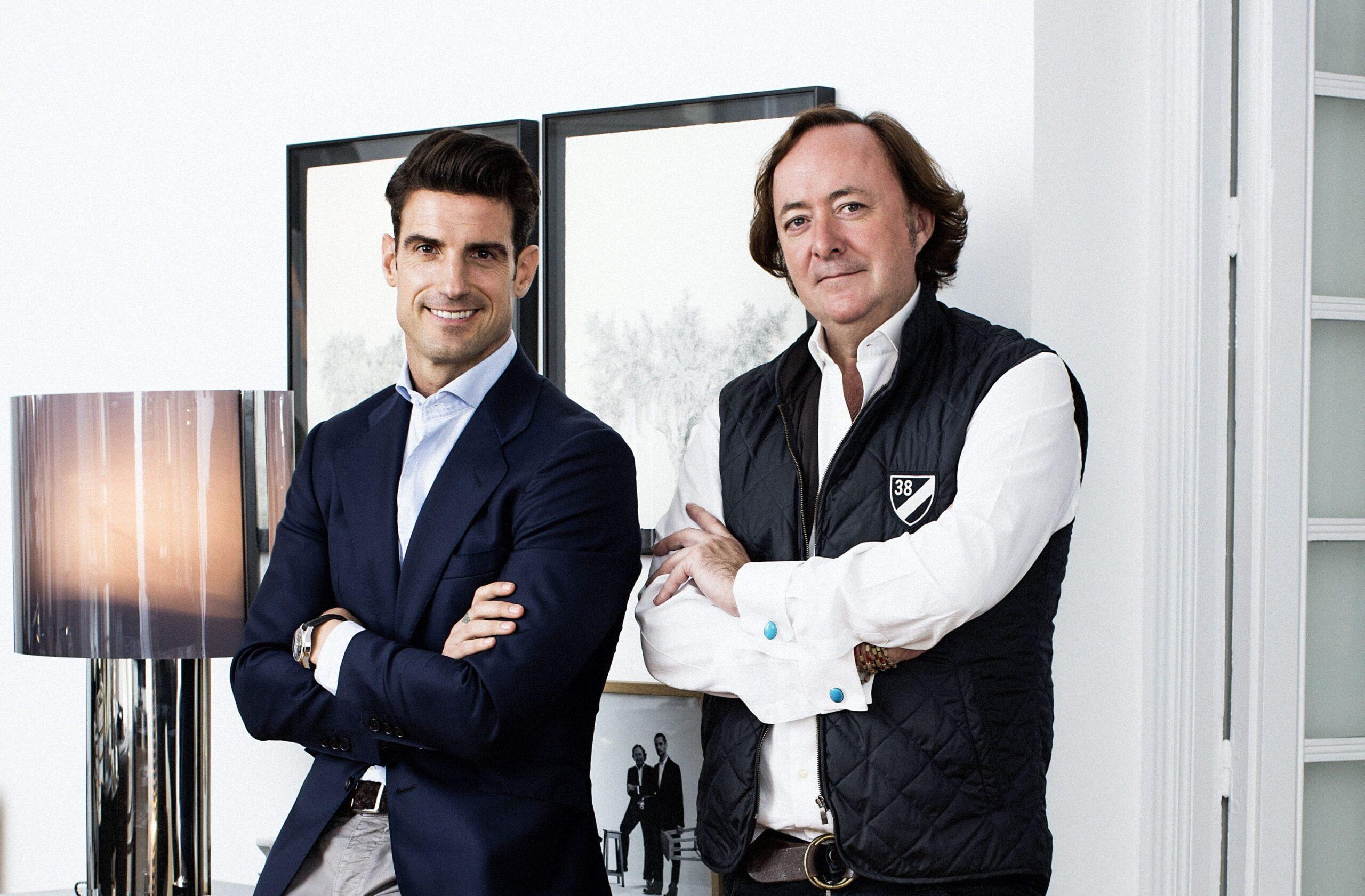 Aitor Ocio y el interiorista Tomás Alia unidos en un nuevo proyecto