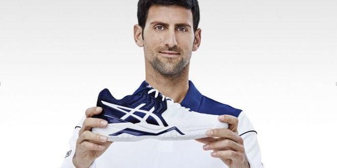 Novak Djokovic y ASICS