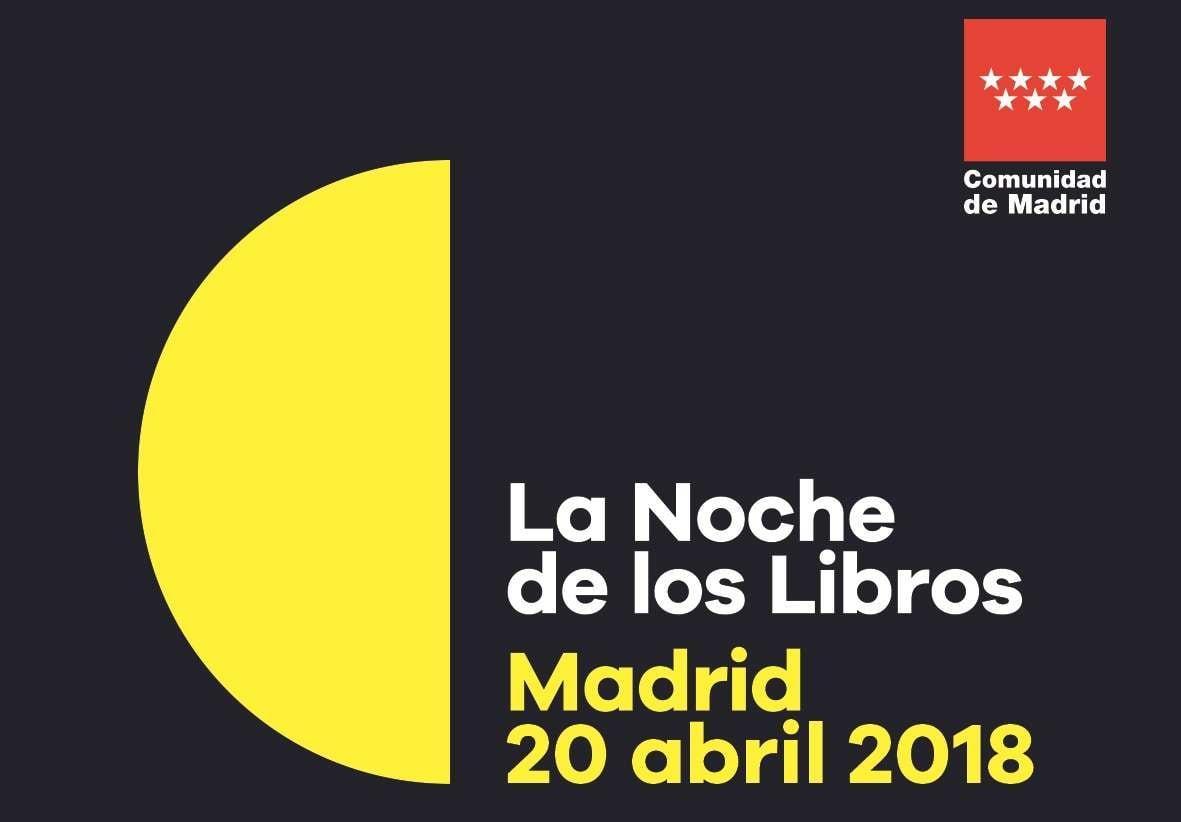 Cruz Novillo presente en la noche más literaria de Madrid