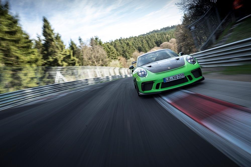 El Porsche 911 GT3 RS arrasa en el 'infierno verde'