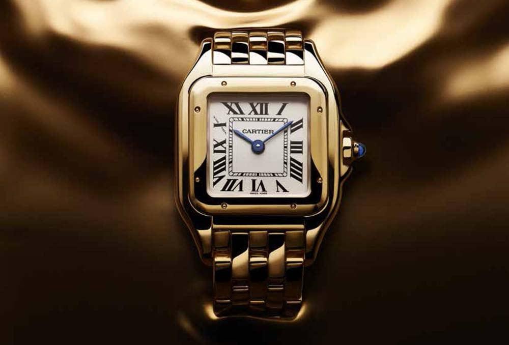 1a9a06a9a314 Cartier Panthére  el reloj joya para mujer - Influencers