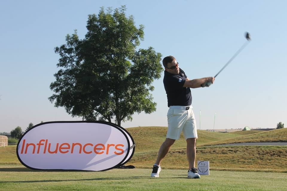 Revista Influencers y Corporate Golf, en el circuito La Faisanera de Segovia.
