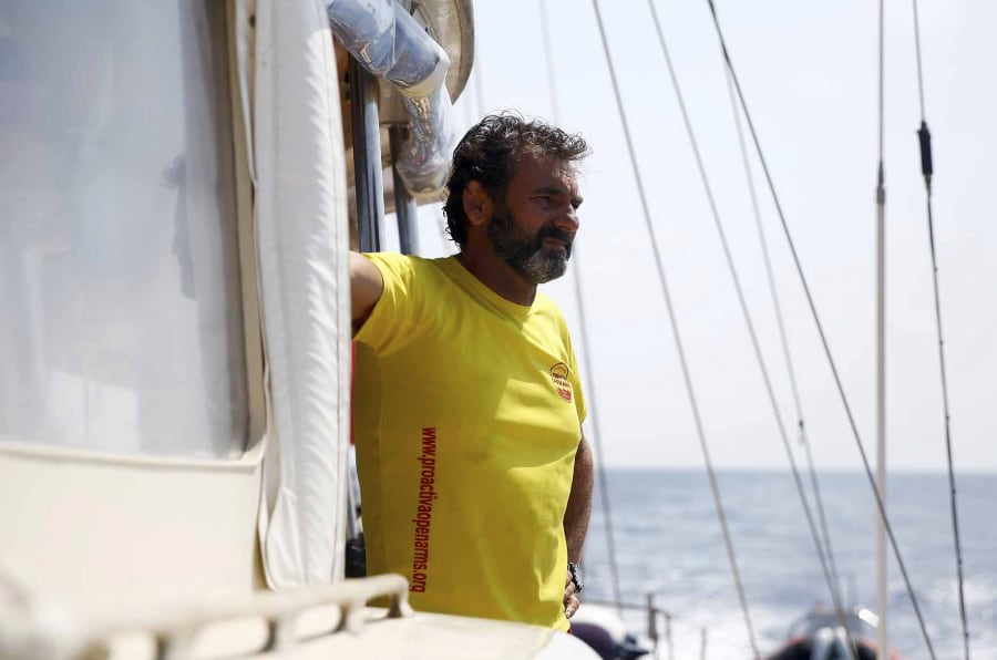 Oscar Camps, director de Proactiva Open Arms