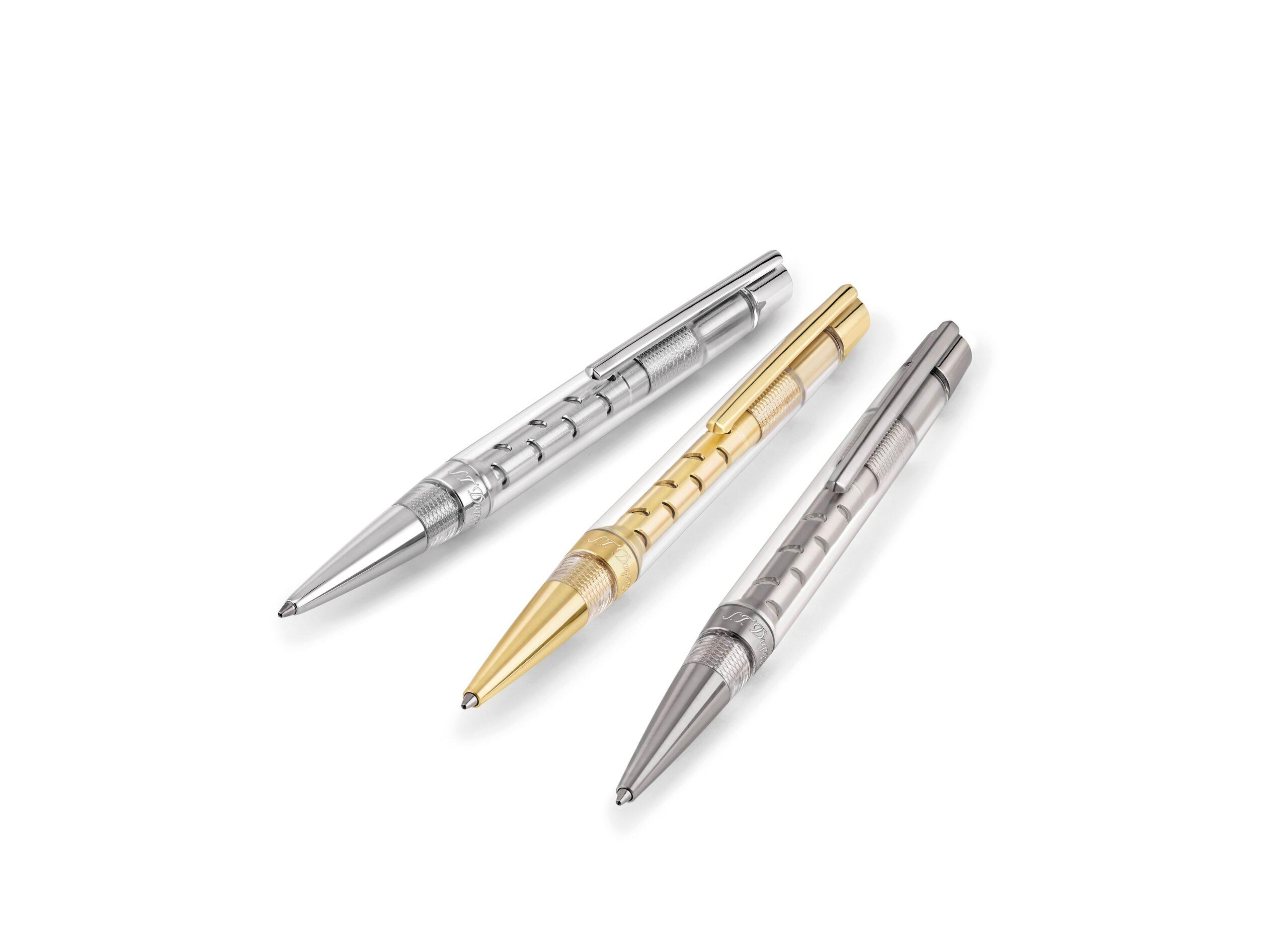 S.T. Dupont Défi Skeleton, un bolígrafo que rinde homenaje a la ingeniería de vanguardia