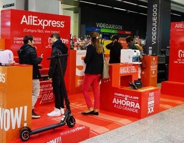 AliExpress en El Corte Inglés