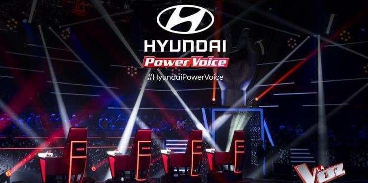 Hyundai en La Voz