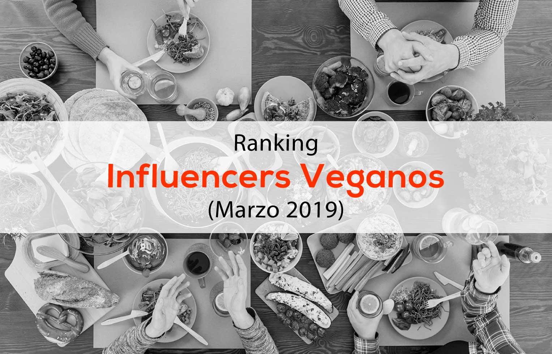 Ranking Influencers Veganos