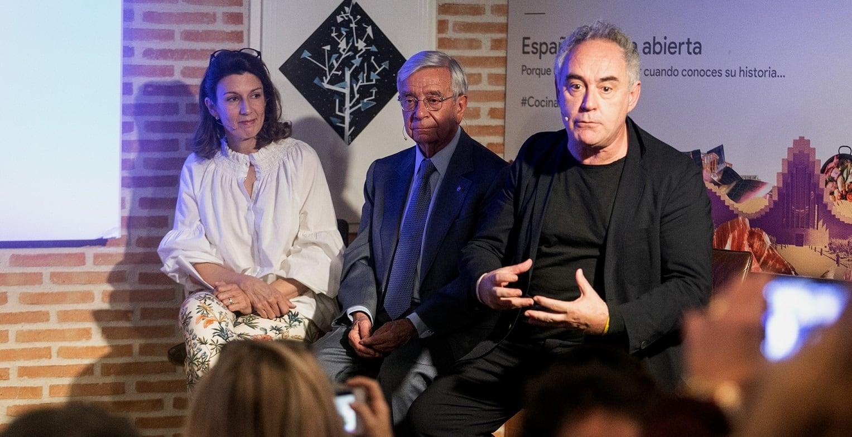 """Ferrán Adriá:  La acción de Google """"España: cocina abierta"""" es impagable"""