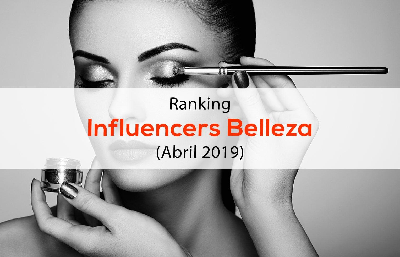 Ranking Influencers Belleza