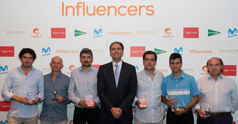 Nuevo éxito en la III edición del torneo de golf Influencers