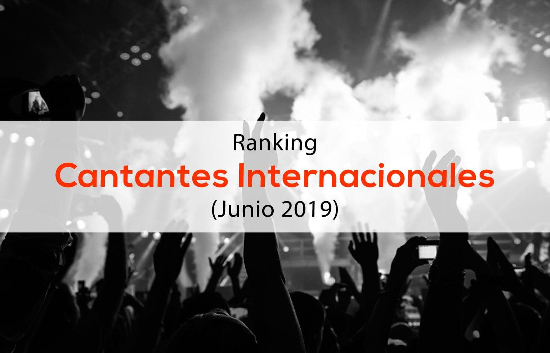 Ranking Influencers Cantantes Internacionales