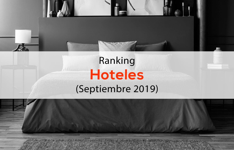 Ranking de las cadenas hoteleras más influyentes