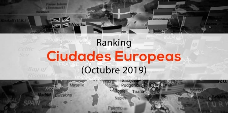 Ranking Influencers ciudades europeas