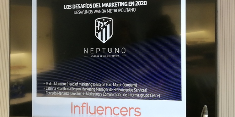 Cumbre de Marketing en el Wanda Metropolitano