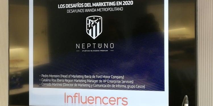 Cumbre del marketing de revista Influencers