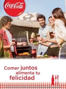 Publicidad subliminal en cartel CocaCola