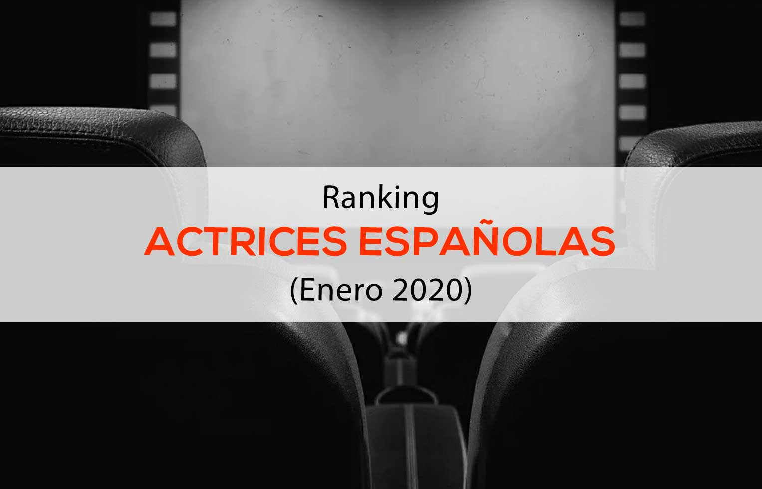 Ranking de Actrices Españolas influencers