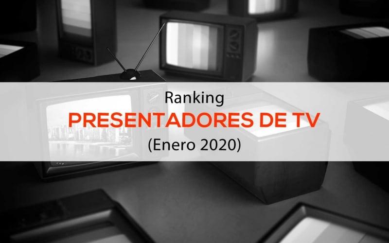 <i>Ranking</i> presentadores de TV