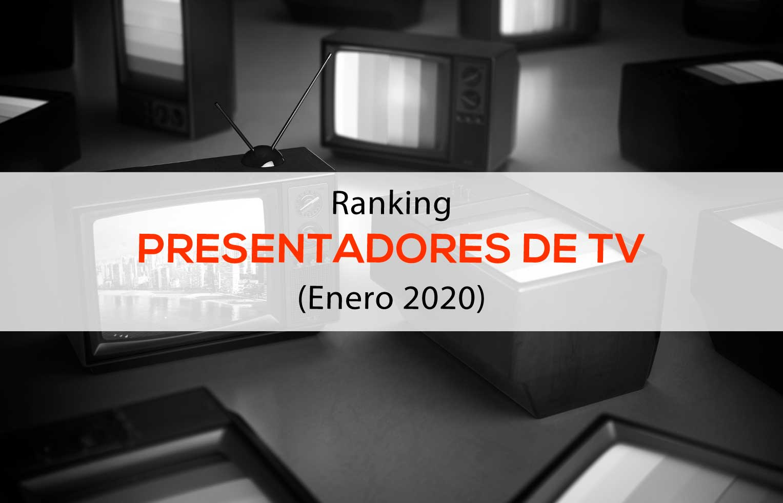 Ranking presentadores de TV