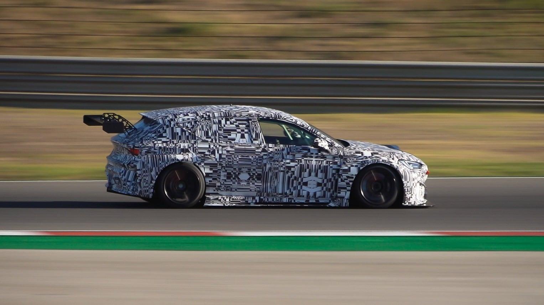 Un coche de carreras impreso en 3D