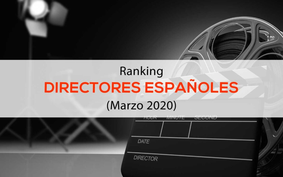 Ranking Cineastas españoles en redes sociales
