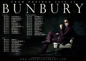 Cartel de la gira Despedida de Bunbury