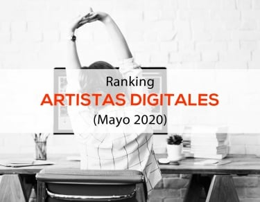 Rankinng Influencers de artistas digitales españoles