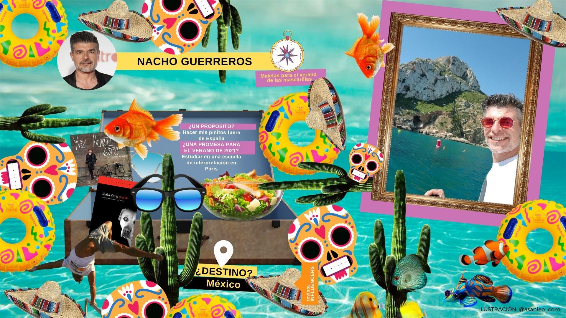 Nacho Guerreros maleta